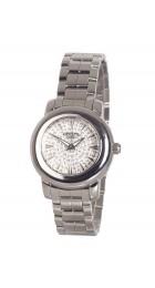 Vendoux Staal Horloge Dames 43010