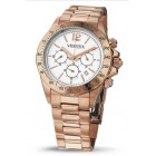 Vendoux rose Horloge Dames 11531