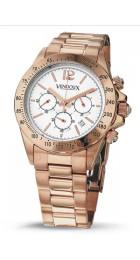 Vendoux rose Horloge Dames 11531