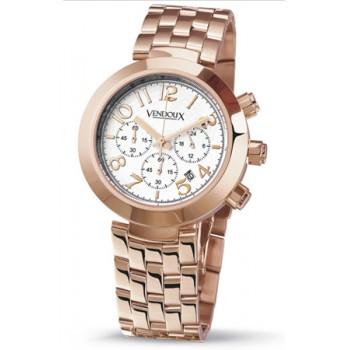 Vendoux Rose Horloge Dames 11561